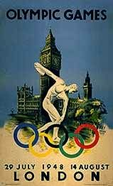 Discobolos at the 1948 Olympics