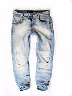 mens jeans  GABBA  Made in Italy style Justin baggy W30 #GABBA #BaggyLoose