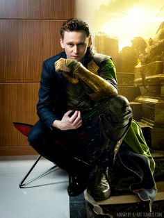 Loki? Tom? Loki? Does it matter? I think not!