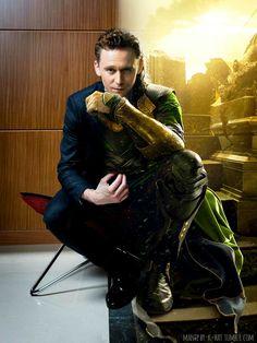 Loki? Tom? Loki? Does it matter? I think not!