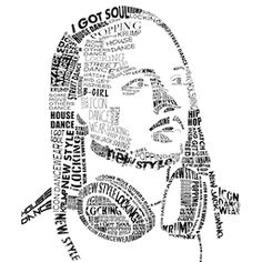 Design a cool Typography Portrait in Adobe Illustrator—work with the Envelope Distort feature on text;