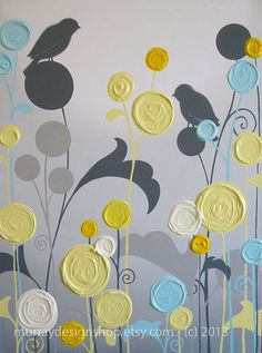 Wall Art Textured Yellow Grey and Aqua Flower .Mustard Yellow and Grey Wall Art, Textured Painting, Abstract Flowers, Acrylic Painting on Canvas-- Made to OrderUnavailable Listing on EtsyShop for painting on Etsy, the place to express your creativity Grey Wall Art, Grey Art, Art Texture, Texture Painting, Acrylic Painting Canvas, Canvas Wall Art, Painting Abstract, Art Gris, Abstract Flowers