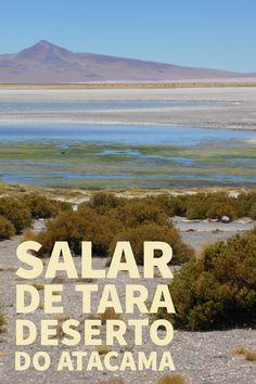 Um dos passeios mais esperados no Deserto do Atacama é a visita ao Salar de Tara. A muitos metros de altitude, o Salar de Tara é um espetáculo da natureza que encanta os visitantes.