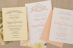 DIY Tutorial: How to Back Invitations with Patterned Paper. Love the idea for backing with book binding linen