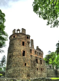 Rising up  by walla2chick. Huntly Castle, Aberdeenshire, Scotland