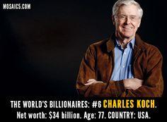 #koch #billionaire
