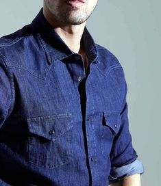 S/S 2018 MAN COLLECTION | Jacob Cohen Denim Button Up, Button Up Shirts, Men's Collection, Tops, Fashion, Moda, Fashion Styles, Fashion Illustrations