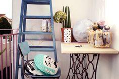 bureau extérieur inspiration Ladder Decor, Diy, Home Decor, Home Decoration, Decoration Home, Bricolage, Room Decor, Diys, Handyman Projects