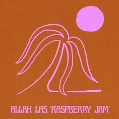 Raspberry Jam, a song by Allah-Las on Spotify Illustrations, Illustration Art, 3d Drawings, Retro Aesthetic, Color Stories, Wall Collage, Album Covers, Screen Printing, Cool Art
