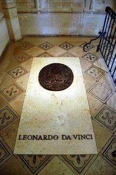 Leonard de Vinci, Chateau royal d'Amboise, Touraine Loire Valley, France