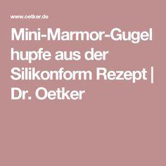Mini-Marmor-Gugelhupfe aus der Silikonform Rezept   Dr. Oetker