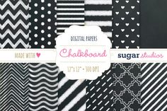 Check out Chalkboard Digital Backgrounds by SugarStudios on Creative Market