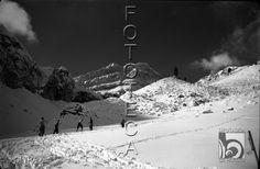Candanchú. Desde el refugio de Canfranc Ski Club. En Rioseta 1934 DARA :: Detalle de Registro
