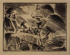 Werner Drewes The Chess Game 1938