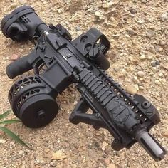 Now that's a 'handgun'