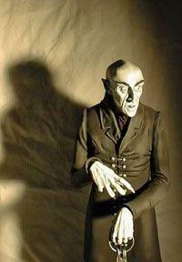 Nosferatu model kit by Thomas Kuntz