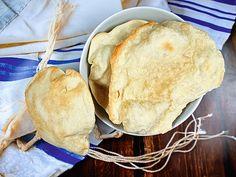 Mazza-Brot (Rezept) Diese knusprigen Brotfladen werden zum Pessach-Fest gegessen. #Mazza #Mazzabrot #Rezept
