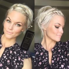 "1,284 Likes, 41 Comments - Krissa Fowles (@krissafowles) on Instagram: "" #pixie #shorthairdontcare #blonde"""