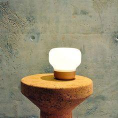 Mushroom Lamp and iPhone Dock