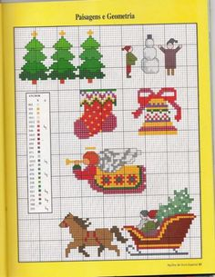 Multi functional Holiday craft pattern use for: cross stitch chart or cross stitch pattern, crochet pattern, knitting, knotting pattern, beading pattern, weaving and tapestry design, pixel art, micro macrame, friendship bracelets, and other crafting projects.