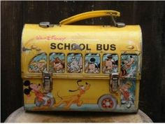 vintage lunch box  I had this.  It's still at my parents' house somewhere.