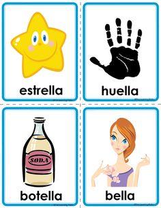 Picture Spanish Classroom Activities, Preschool Spanish, Spanish Teaching Resources, Bilingual Classroom, Pre K Activities, Alphabet Activities, Catalan Language, Learning Websites For Kids, Montessori