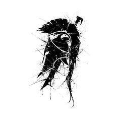 Spartan Helmet logo - Spartan - T-Shirt Bild Tattoos, Arm Tattoos, Forearm Tattoo Men, Body Art Tattoos, Sleeve Tattoos, Tatuagem Em Latin, Couple Tattoos, Tattoos For Guys, Spartan Helmet Tattoo