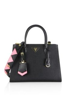 37ac1bb44bb1 PRADA Paradigme Saffiano Leather Tote.  prada  bags  shoulder bags  hand  bags