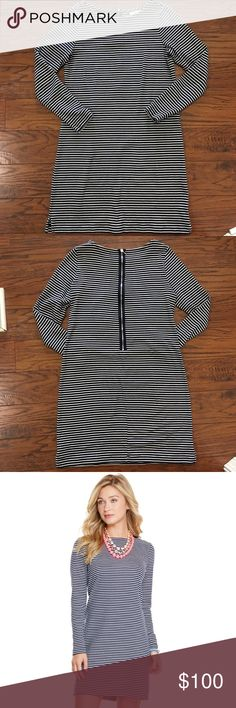 Vineyard Vines Anguilla Stripe Knit Dress Excellent Condition✨ Machine Washable / Tumble Dry 100% Cotton Perfect for all seasons! Can layer with a vest or necklace Vineyard Vines Dresses Long Sleeve