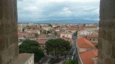 vista della città dalla Torre Campanaria della Cattedrale #maperti14 #Oristano