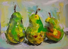 Paul Wright Dutch Pears , 2014 oil on board 30 x 38 cm Paul Wright, Fauvism, Impressionist Paintings, Gcse Art, Cool Paintings, Art Techniques, Still Life, Design Elements, Cool Art