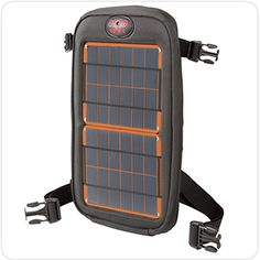 The #Fuse4W #SolarCharger is a lightweight way to add solar and battery power to any bag. It connects in seconds to bags, tents, bicycles and pretty much anyplace else you might need solar power.