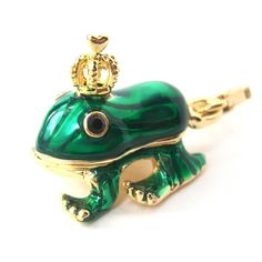 dotoly: Frog Prince Animal Pendant Necklace |...