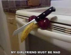 Pissed off girlfriend
