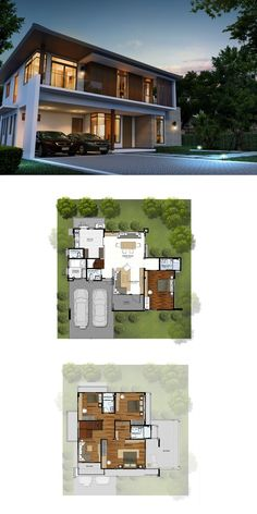 Houses planning layout