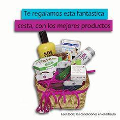 Una cesta con muchísimos productos para que puedas comprobar de primera mano la calidad de cada uno de ellos, de regalo si eres uno de los elegidos entra y participa en este enlace. http://www.farmaciadelabelleza.com/blog-consultorio/probar-productos-gratis-de-belleza