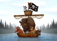 """""""Pirates of Niagara"""" by S.T. Lewis"""