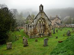 Wander the wood An old ruined church of the Knights Templar in Balantrodach, Temple, Scotland by andrewmckie