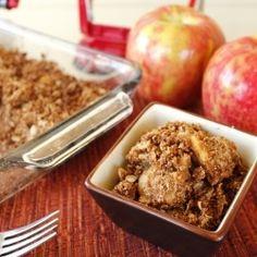 Best Diabetic Desserts - Apple coconut crisp - http://bestrecipesmagazine.com/best-diabetic-desserts-apple-coconut-crisp/