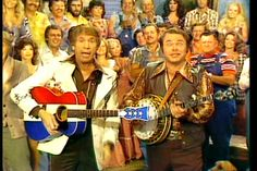 Hee Haw (my father's favorite show!) with Buck Owens and Roy Clark as co-host