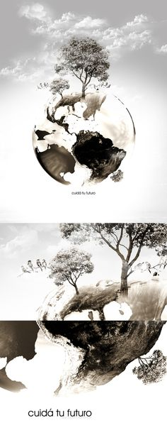 Madre Tierra by Roberto Hernandez, via Behance