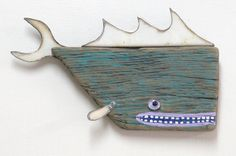 Paul ANCHOR ...number 2 ... Driftwood and found metal funky chunky little fun fish