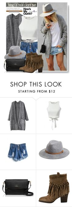 """Beautifulhalo.com: Today is your Lucky Day"" by hamaly ❤ liked on Polyvore featuring MIJA, Michael Stars, Kate Spade, Sbicca, Sugarboo Designs, women's clothing, women's fashion, women, female and woman"