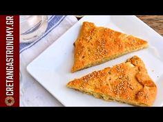 Εύκολο σπιτικό φύλλο για πίτες (χωρίς πλάστη) - cretangastronomy.gr - YouTube Leek Pie, Spinach Pie, Homemade Pastries, Cheese Pies, Self Rising Flour, Food And Drink, Cooking Recipes, Tasty, Breakfast