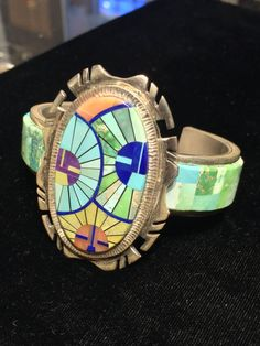 Truly Incredible Navajo Native American Inlay by outbeyondborders