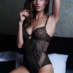 VS Black Teddy 34B No padding, open back Victoria's Secret Intimates & Sleepwear