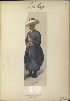 Chatir. The Vinkhuijzen collection of military uniforms / Turkey, 1818. See McLean's Turkish Army of 1810-1817.