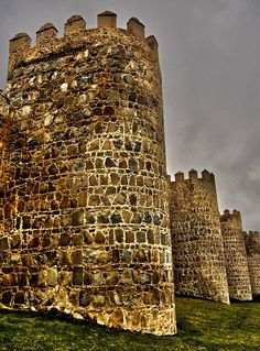 Towers Of Avila - Spain