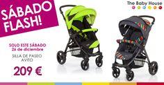 ¿Quieres cerrar el año ahorrando a lo grande? Este sábado, 26 de diciembre, rebajamos 60 € la silla de paseo Avito. ¡60 eurazos de descuento! ¡No te quedes sin una para tu bebé!