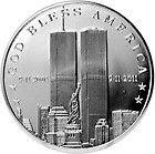 Bullion 999 - 1 1 oz 999 Fine Silver Round 10th Anniversary of 9 11 Commorative Round - http://www.onlinegoldshopping.net/bullion-999/#